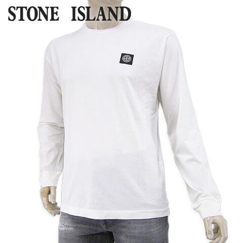 【2020春夏新作】 ストーンアイランド/STONE ISLAND メンズ 長袖Tシャツ 721522713 (アイボリー/V0093) クルーネック/長袖/長袖カットソー/カットソー/大きいサイズ-t