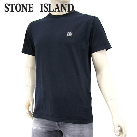 【2020春夏新作】 ストーンアイランド/STONE ISLAND メンズ Tシャツ 721524113 (ダークネイビー/V0020) クルーネック/半袖/大きいサイズ-t
