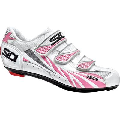【現品特価】シディ MOON WOMAN ホワイト/ピンク (ノーマルタイプ) 【自転車】【シューズ】【ロード用】【シディ】