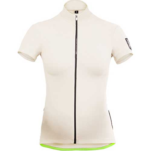 【現品特価】Q36.5 ショートスリーブ ジャージ L1 レディース Summer ホワイト【自転車】【ウェア】