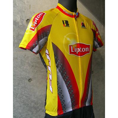 【現品特価】ビエンメ Lipton SS Jersey イエロー 【自転車】【ウェア】【ショートスリーブウェア】