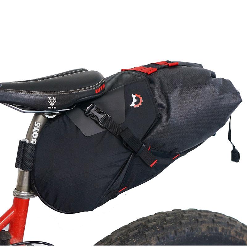 レベレイトデザイン テラピン 14L サドルバッグ ブラック【自転車】【バッグ】【サドルバッグ】