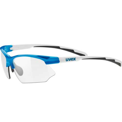 ウベックス スポーツスタイル 802 VARIO ブルーホワイト サングラス(調光レンズ)