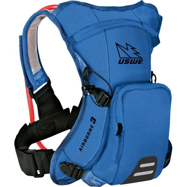 ユースウィー AIRBORNE 3 レースブルー ハイドレーションバッグ バックパック