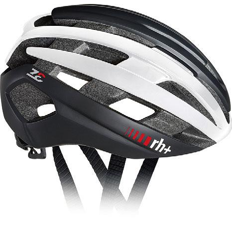 zerorh+ EHX6074 Z-Epsilon 10マットブラック/シャイニーホワイト/マットブラック ヘルメット