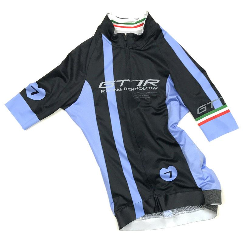セブンイタリア GT-7RR レディース Jersey ブラック/ブルー