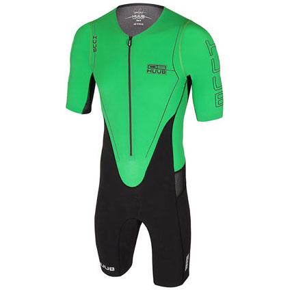 フーブ DS Long Course Triathlon Suit グリーン メンズ