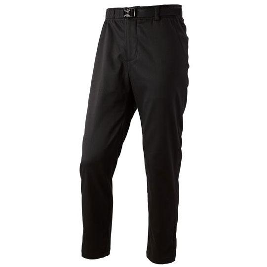 パールイズミ 【9150】テーパードバイカーズ パンツ 1.ブラック