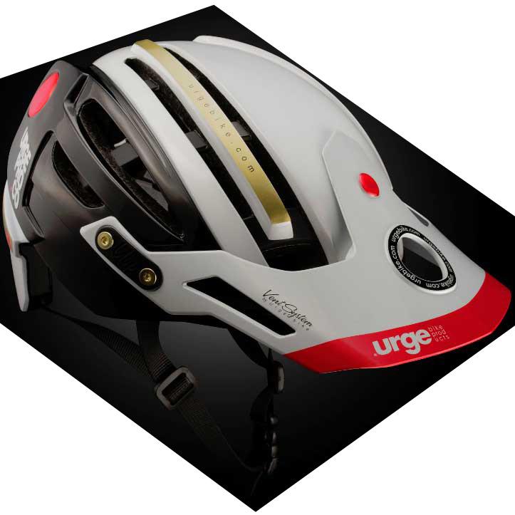 【SALE】アージュ Endur-o-Matic 2 (ハードバイザー) ホワイト ヘルメット