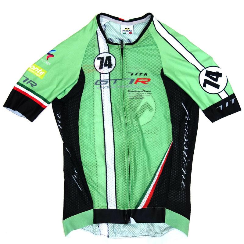 【超現品特価】セブンイタリア GT-7RR Climber's Jersey グリーン 0724