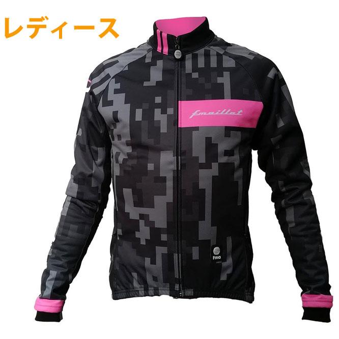 Fma ウィンターシールドジャケット レディース Digital Camo-Neon Pink