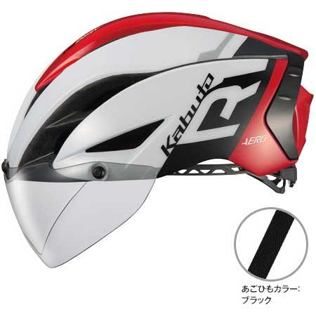 OGKカブト エアロ-R1(AERO-R1) G-1ホワイトレッド ヘルメット