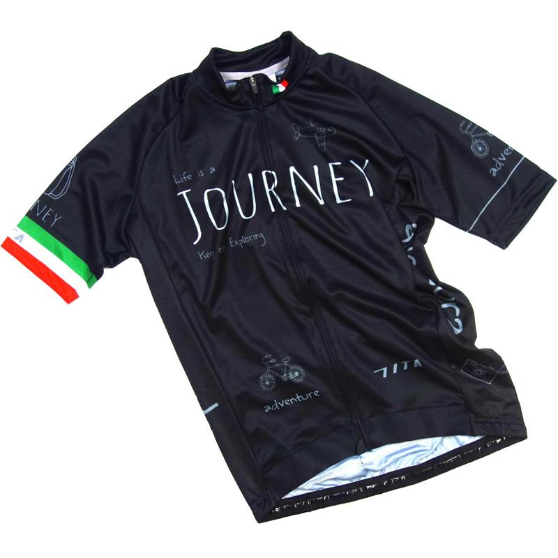 セブンイタリア Journey Jersey ブラック