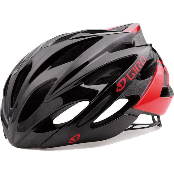 【SALE】ジロ SAVANT ワイドフィット ブライトレッド/ブラック ヘルメット