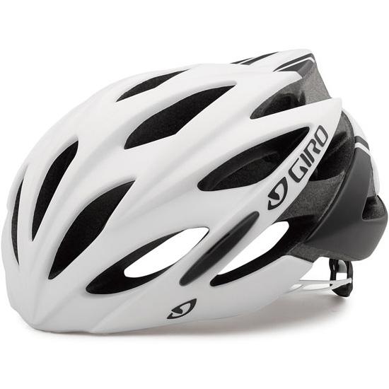 ジロ SAVANT ワイドフィット マットホワイト/ブラック ヘルメット