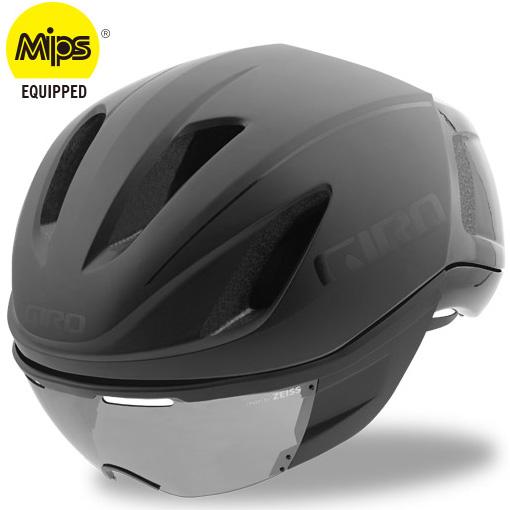 ジロ VANQUISH MIPS ワイドフィット マットブラック ヘルメット