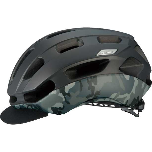 OGKカブト KOOFU(コーフー) BC-GLOSBE-2 マットブラックカモ ヘルメット