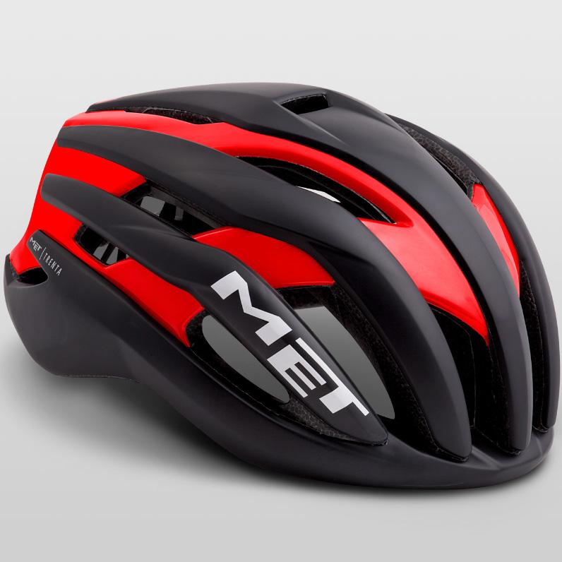 メット トレンタ ブラックレッド ヘルメット