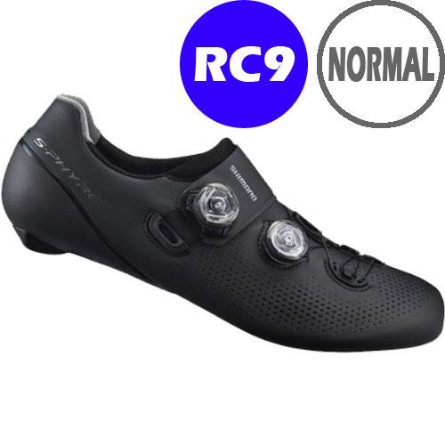 シマノ RC9(SH-RC901) ブラック ノーマルタイプ SPD-SL シューズ BOA