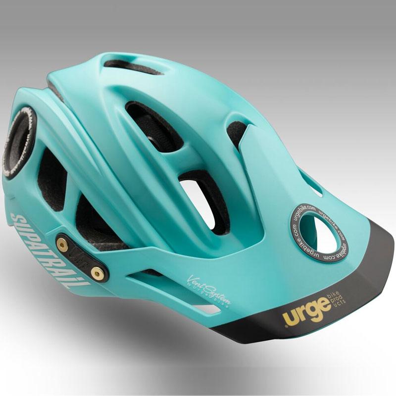 アージュ SupAtrail(スパトレイル) チェレステハードバイザー付 チェレステ ヘルメット