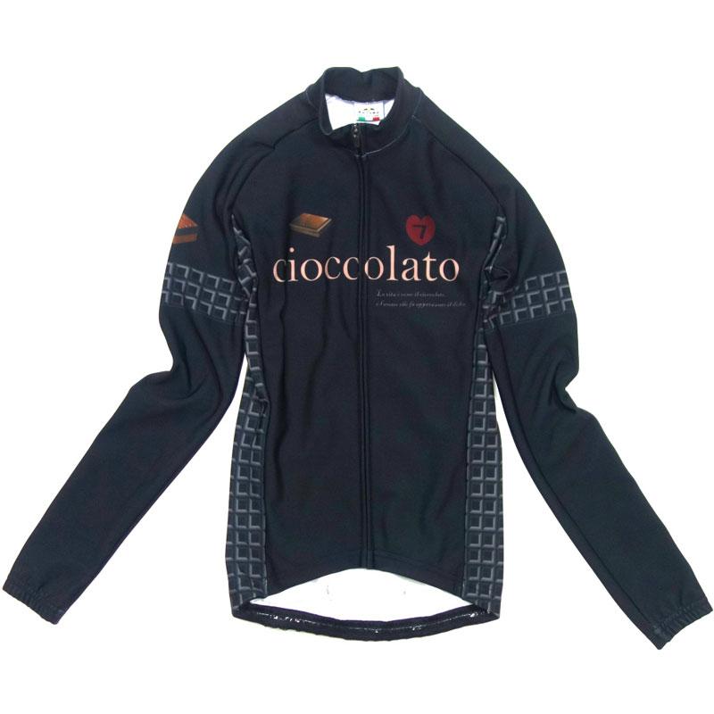 セブンイタリア Ciocolato Lady LS Jersey ブラウン レディース