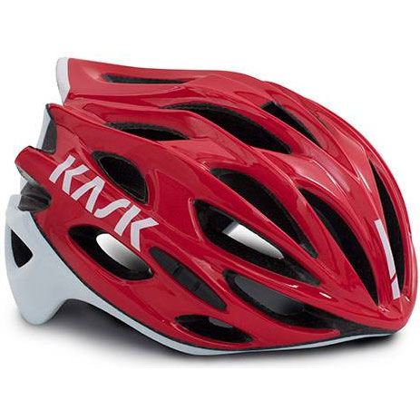 KASK MOJITO X レッド/ホワイト ヘルメット
