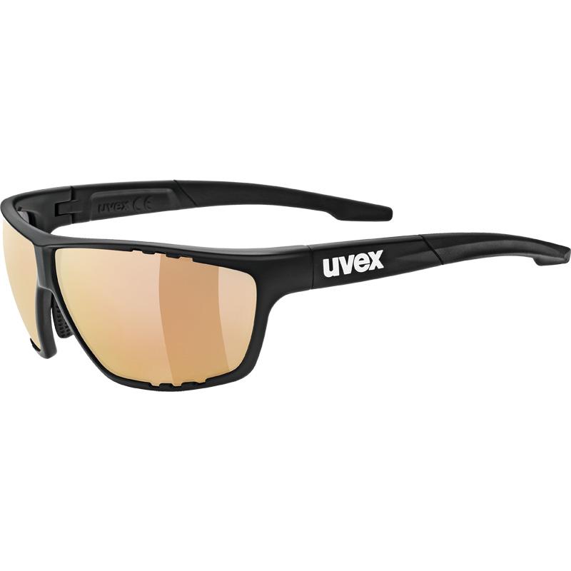 ウベックス sportstyle 706 colorvision vm ブラックマット サングラス(調光レンズ)