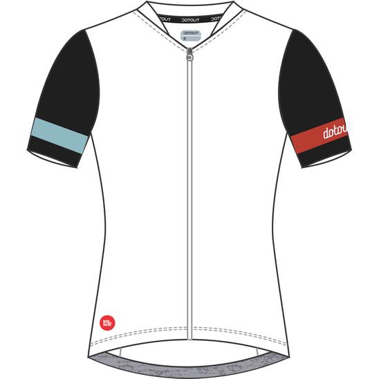 ドットアウト レディース Premier W Jersey 009.ホワイト/ブラック