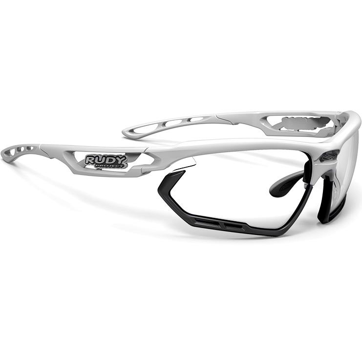 ルディプロジェクト フォトニック ホワイトグロスフレーム インパクトX2 調光ブラックレンズ
