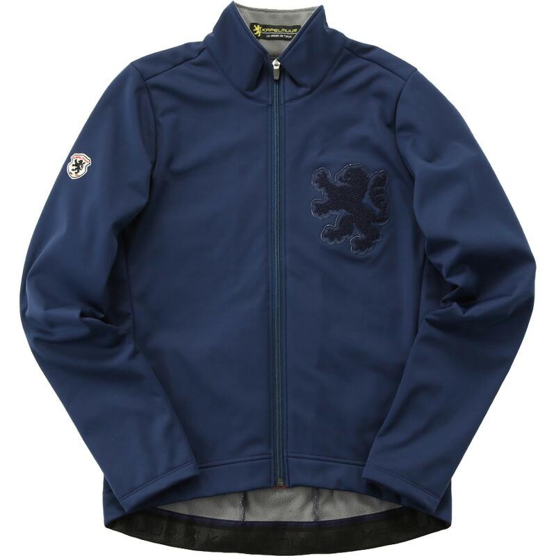 カペルミュール ウインドシールドジャケット サガラ刺繍 ネイビー
