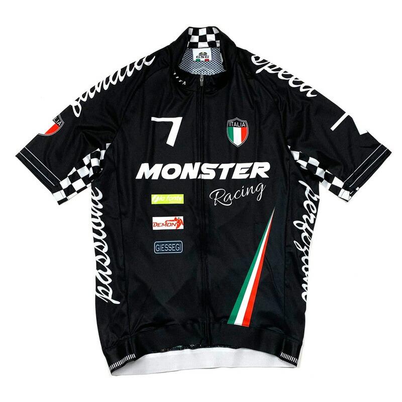 セブンイタリア Seven Racing II Jersey Monster ブラック