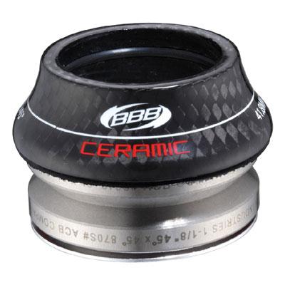 BBB インテグラル ロード セラミック OS 41.8mm ブラック BHP-47 ヘッドセット 【自転車】【ロードレーサーパーツ】【ヘッドパーツ】【BBB】