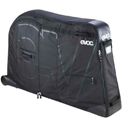 ★【同梱不可】イーボック バイクトラベルバッグ(フレームパッド付属) ブラック 輪行バッグ