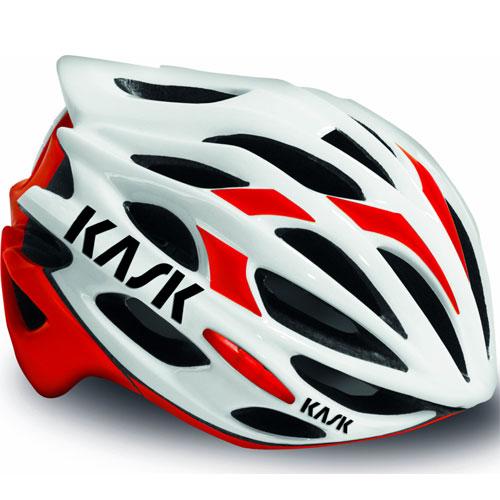 KASK MOJITO ホワイト/レッド ヘルメット