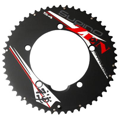 スギノ ZEN STRADA アウターチェーンリング 薄歯 53T 【自転車】【ロードレーサーパーツ】【PCD130mm用チェーンリング】【スギノ】