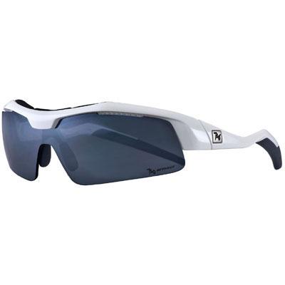 720アーマー Tack ホワイト サングラス 偏光レンズ+2色モデル マグネット式レンズ着脱システム【自転車】