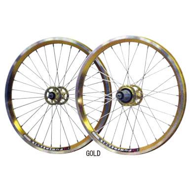 パワーツールズ 20インチ 135 Color Wheel 前後セット 【自転車】【小径車パーツ】【ホイール】
