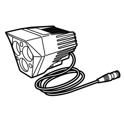 キャットアイ ライトユニット HL-EL930RC #534-2150 【自転車】【ヘッドライト】【ライトスモールパーツ】