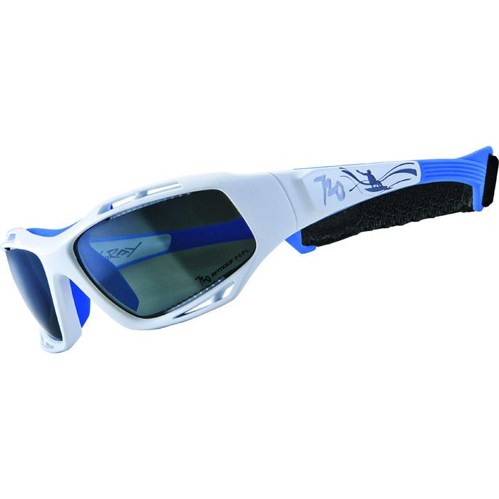 720アーマー Stingray ホワイト/ブルー サングラス 偏光レンズモデル 【自転車】【ヘルメット・アイウェア】【サングラス】【720アーマー】