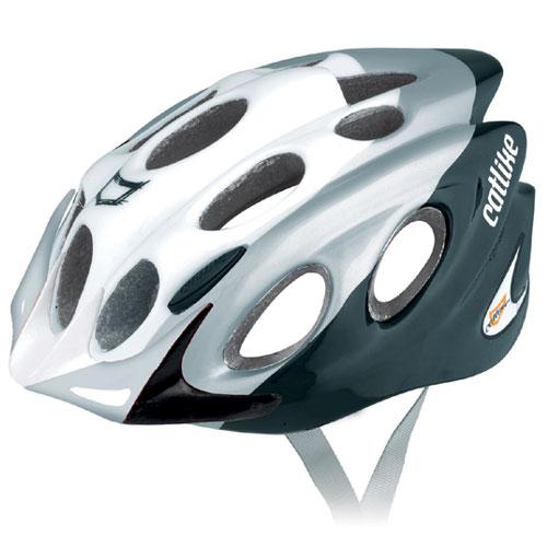 【現品特価】カットライク Kompacto (コンパクト) グレーブラックWH(R050) ヘルメット CE【自転車】【ヘルメット(大人用)】【カットライク】