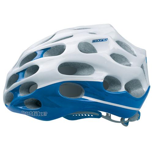 【現品特価】カットライク Mixino (ミクシノ) ブルーホワイト(R001) ヘルメット CE【自転車】【ヘルメット(大人用)】【カットライク】