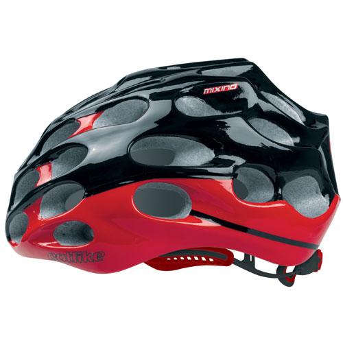 【現品特価】カットライク Mixino (ミクシノ) レッドブラック(R003) ヘルメット CE【自転車】【ヘルメット(大人用)】【カットライク】