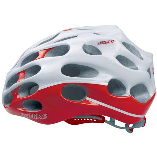 【現品特価】カットライク Mixino (ミクシノ) レッドホワイト(R007) ヘルメット CE【自転車】【ヘルメット(大人用)】【カットライク】