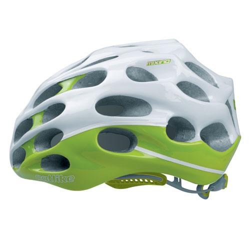 【現品特価】カットライク Mixino (ミクシノ) ホワイトグリーン(R005) ヘルメット CE【自転車】【ヘルメット(大人用)】【カットライク】