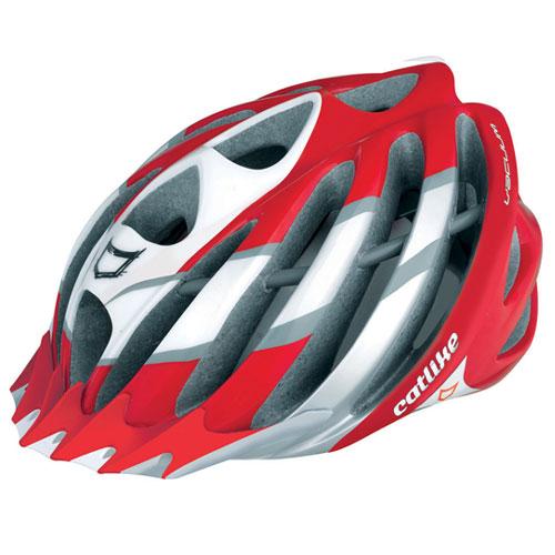 【現品特価】カットライク Vacuum (バキューム) レッドホワイト(R054) ヘルメット CE【自転車】【ヘルメット(大人用)】【カットライク】