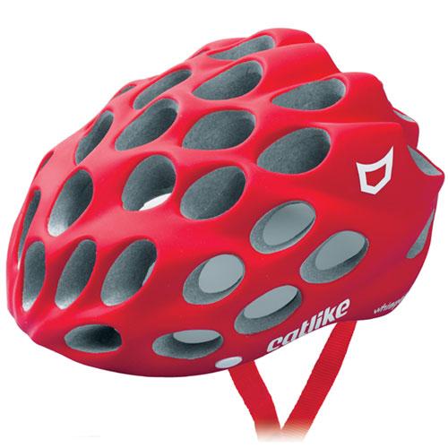 【現品特価】カットライク Whisper (ウィスパー) マットレッド(R067P) ヘルメット CE【自転車】【ヘルメット(大人用)】【カットライク】