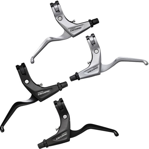 SHIMANO DEORE BL-T611 brake cables and power modulator (SM-PM70) comes with brake lever set