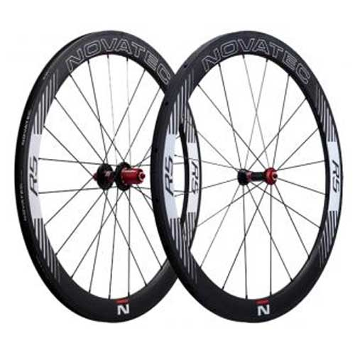 ノバテック R5 クリンチャーホイール シマノ用 前後セット 【自転車】【ロードレーサーパーツ】【ホイール】【ノバテック】
