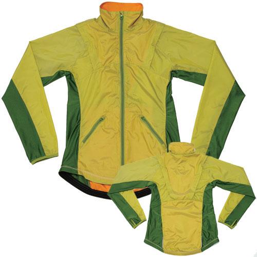 ロコゴワ 携帯ロコジャケット うぐいす 【自転車】【ウェア】【レディースウェア】【ロコゴワ】
