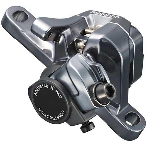 シマノ BR-CX77 メカニカルディスクブレーキ フロント/リア兼用 1個 メタルパッド【自転車】【マウンテンバイクパーツ】【ディスクブレーキ】【シマノ】